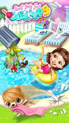 بازی اندروید پاک کردن دختر بچه شیرین 5 - Sweet Baby Girl Cleanup 5