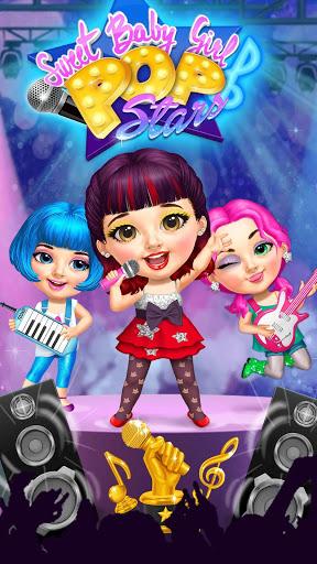 بازی اندروید دختر بچه شیرین ستاره پاپ - Sweet Baby Girl Pop Stars