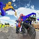 قهرمان عنکبوتی موتور سوار