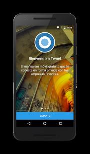 نرم افزار اندروید تونل مسنجر - Twnel Messenger