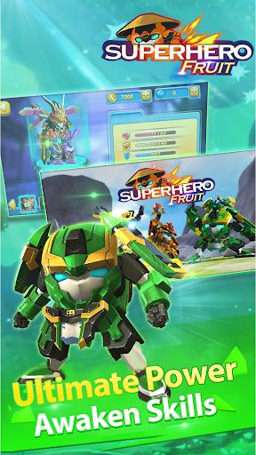 بازی اندروید نبرده های آینده - جنگ ربات میوه ای - Superhero Fruit: Robot Wars - Future Battles