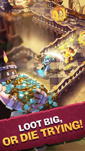 بازی اندروید تلاش قاطع برای حماسه لوت - The Mighty Quest for Epic Loot