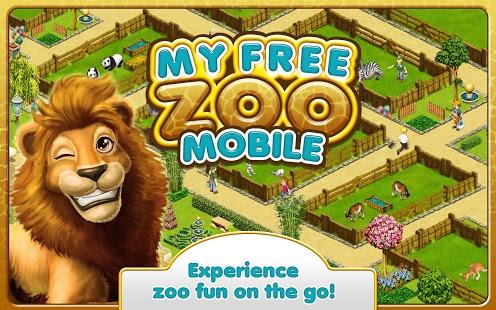 بازی اندروید باغ وحش من - MyFreeZoo Mobile