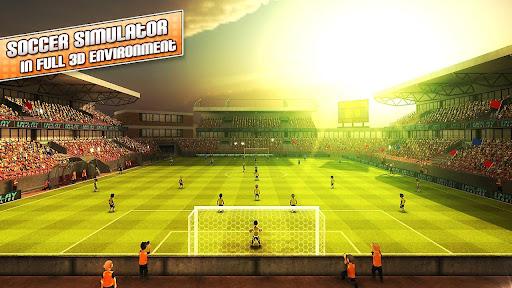 بازی اندروید مهاجم فوتبال لندن - Striker Soccer London