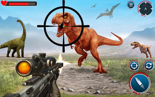 بازی اندروید شکار واقعی دایناسور - بازی صیاد - Real Dinosaur Hunter: Hunting Games