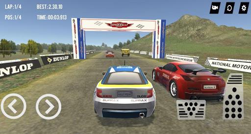 بازی اندروید مسابقه سه بعدی سوپر رالی - Super Rally Racing 3D