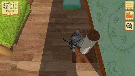 بازی اندروید بچه گربه ناز - Cute Pocket Cat 3D - Part 2