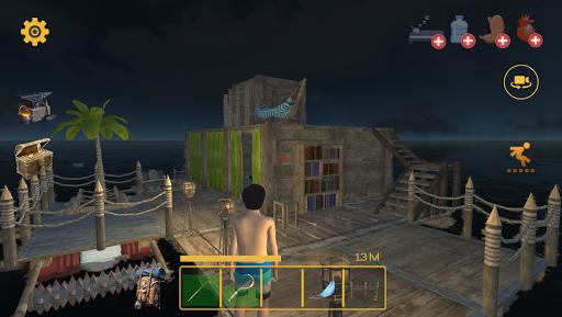 بازی اندروید قایق بقا - چند نفره - Raft Survival: Multiplayer
