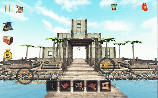 بازی اندروید قایق نهایی بقا - Raft Survival: Ultimate