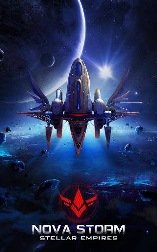 بازی اندروید امپراطوری ستارگان - Nova Storm: Stellar Empire[Online Galaxy War Game]