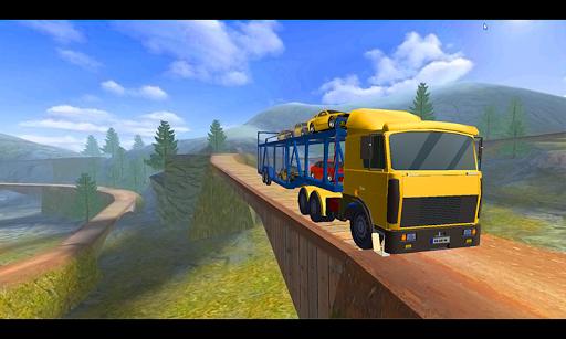 بازی اندروید راننده تپه - کامیون کشنده  - Car Transporter Hill Driver