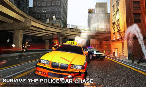 بازی اندروید یورش راننده تاکسی دیوانه - Pro TAXI Driver Crazy Car Rush