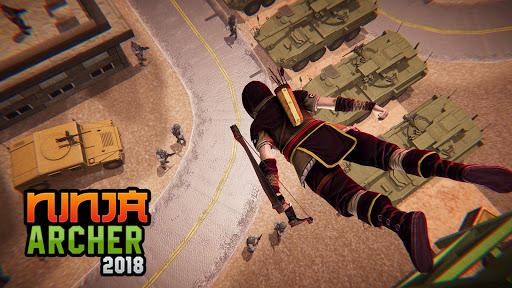 بازی اندروید سامورایی کمان دار قاتل - Ninja Archer Assassin FPS Shooter