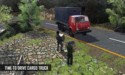 بازی اندروید حمل و نقل با کامیون بیابانی - Off Road Cargo Truck Driver