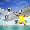 زندانی فراری از هواپیمای پلیس