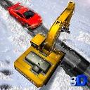 بیل مکانیکی برف روب