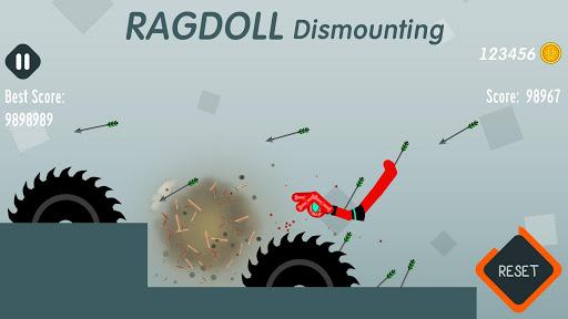 بازی اندروید از بین بردن عروسک - Ragdoll Dismounting