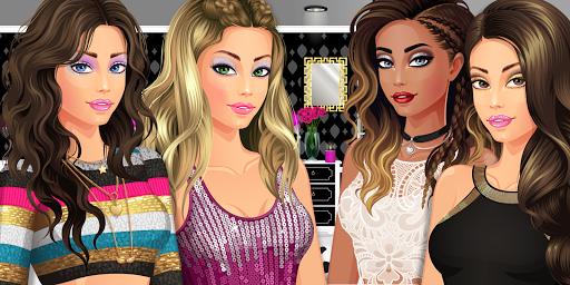 بازی اندروید لباس دختران پسران ستاره - خانه را طراحی کنید - DRESS UP STAR:  Design Girls, Boys, Friends, Home!