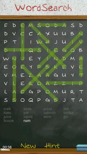 بازی اندروید جستجوی نامحدود کلمه - Word Search Unlimited