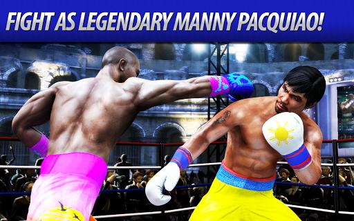 بازی اندروید مسابقه بوکس واقعی - Real Boxing Manny Pacquiao