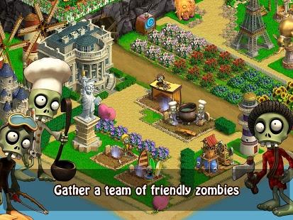 بازی اندروید زامبی عاشق - Zombie Castaways