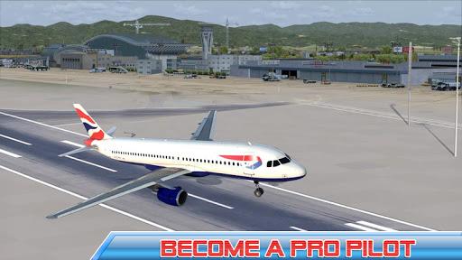 بازی اندروید پرواز هواپیمای شهر - City Airplane Pilot Flight