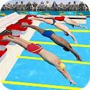 مسابقه شنا