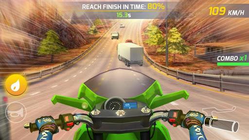 بازی اندروید موتور سیکلت بزرگراه - Moto Highway Rider