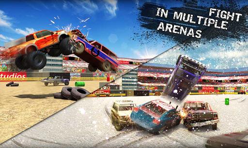 بازی اندروید دربی  تخریب ماشین - Xtreme Demolition Derby Racing- Muscle Cars Crash