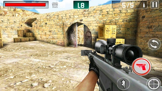 بازی اندروید جنگ تیرانداز - Gun Shoot War