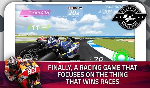 بازی اندروید مسابقه قهرمانی موتور - MotoGP Race Championship Quest