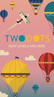 بازی اندروید دو نقطه - Two Dots