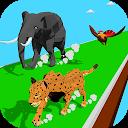 بازی مسابقه ترانسفورماتور حیوانات - مسابقه حماسه