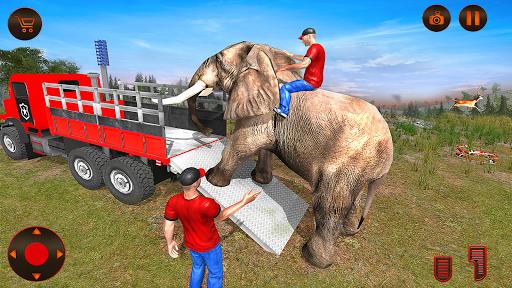 بازی اندروید شبیه ساز حمل و نقل حیوانات - Wild Animals Transport Simulator