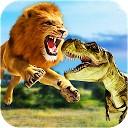 شکار دایناسور با شیر وحشی - ماجراجویی وحش