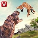 ماجراجویی ببر در مقابل دایناسور