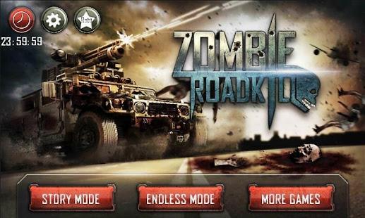 بازی اندروید کشتار جاده ای زامبی - Zombie Roadkill 3D