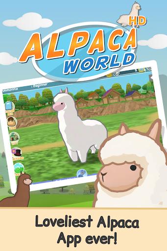 بازی اندروید جهان آلپاکا - Alpaca World HD+