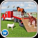 بازی کامیون حمل حیوانات مزرعه