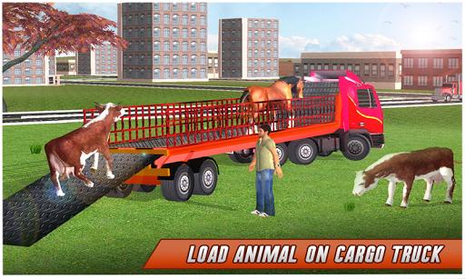 بازی اندروید کامیون حمل حیوانات مزرعه - Farm Animal Transport Truck