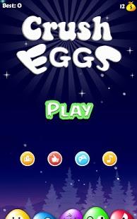بازی اندروید تخم مرغ له شده - Crush Eggs