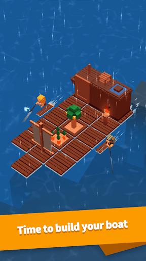 بازی اندروید ساخت در دریا - Idle Arks: Build at Sea