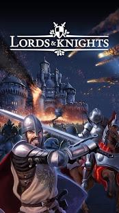 بازی اندروید لرد و شوالیه - Lords & Knights - Strategy MMO