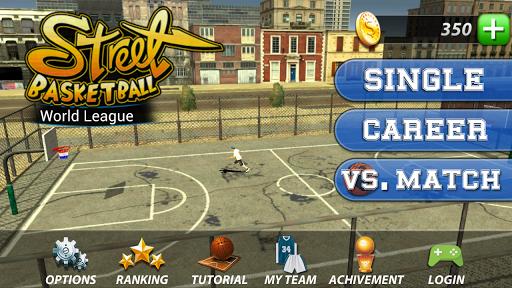 بازی اندروید لیگ جهانی بسکتبال - Street Basketball-World League