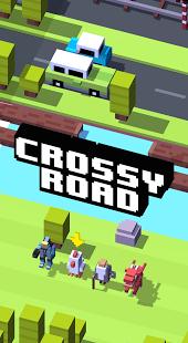 بازی اندروید جاده تقاطعی - Crossy Road