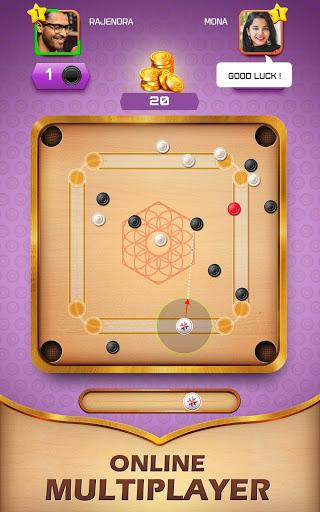 بازی اندروید دوستان هویج - بازی تخته هویج - Carrom Friends : Carrom Board & Pool Game
