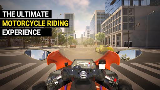 بازی اندروید شبیه ساز واقعی - سرعت رفتن موتور - Speed Motor Dash:Real  Simulator
