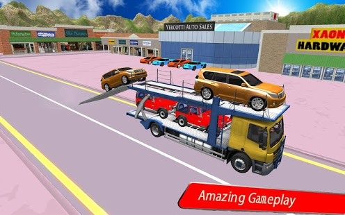 بازی اندروید کامیون حمل خودرو - Car Carrier Truck Simulator
