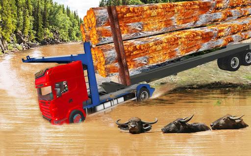 بازی اندروید راننده کامیون واقعی 2018 - Mud Truck Driver : Real Truck Simulator 2018