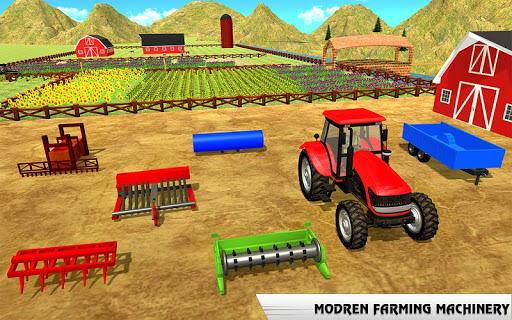 بازی اندروید تراکتور واقعی کشاورز - بازی جدید کشاورزی - Real Tractor Farmer games 2019 : New Farming Games